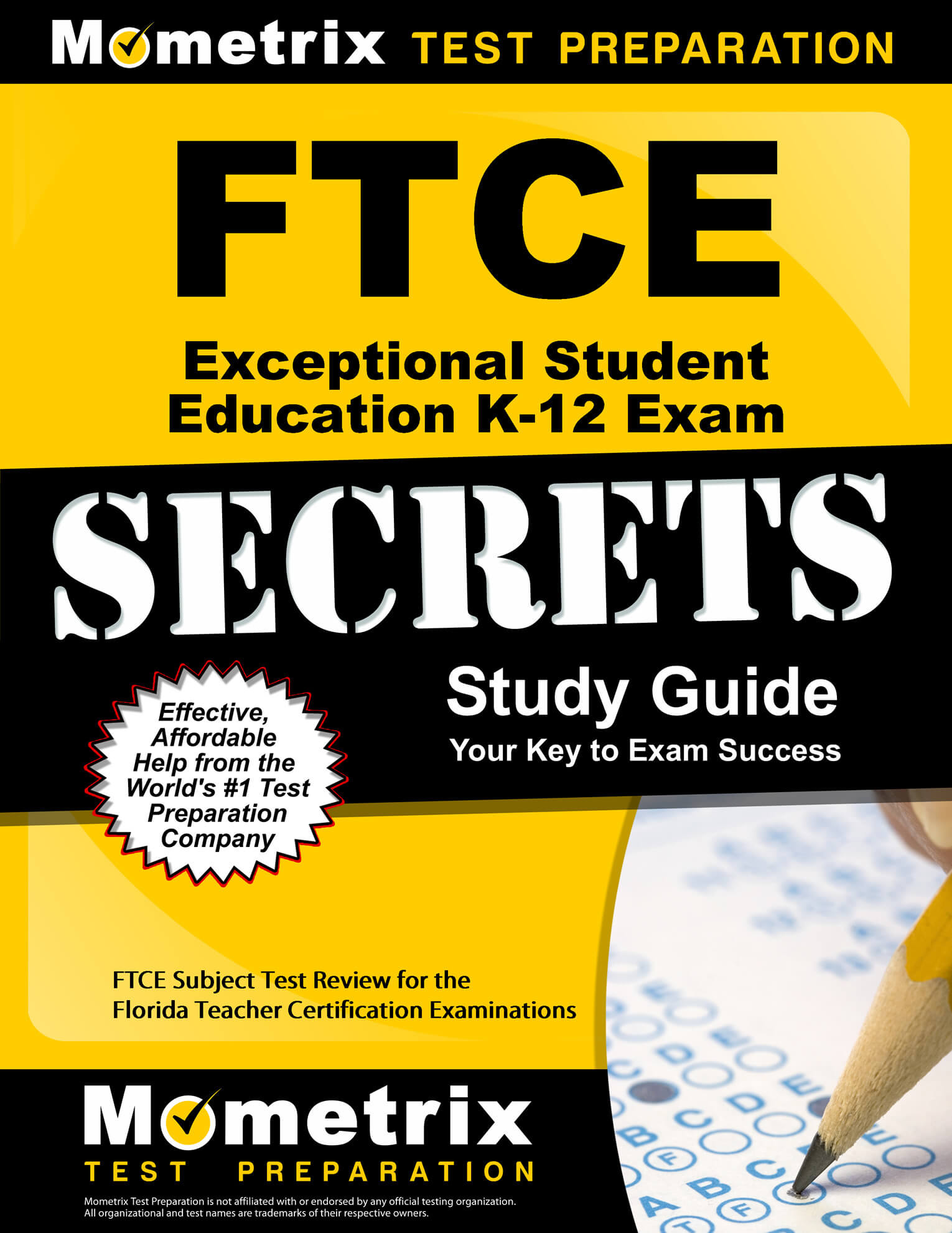 FTCE Exceptional Student Education K-12 Study Guide