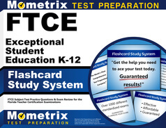 FTCE Exceptional Student Education K-12 Flashcards