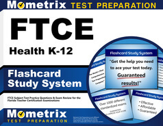 FTCE Health K-12 Flashcards