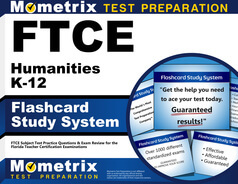 FTCE Humanities K-12 Flashcards