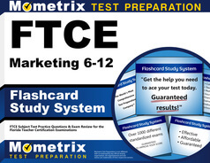 FTCE Marketing 6-12 Flashcards