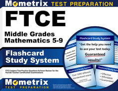FTCE Middle Grades Mathematics 5-9 Flashcards height=