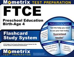 FTCE Preschool Education (Birth-Age 4) Flashcards