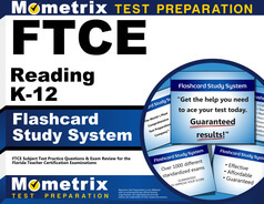 FTCE Reading K-12 Flashcards