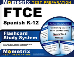 FTCE Spanish K-12 Flashcards