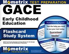 GACE Early Childhood Education Flashcards
