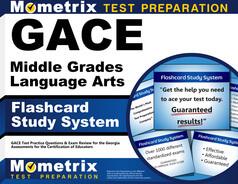 GACE Middle Grades Language Arts Flashcards