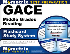 GACE Middle Grades Reading Flashcards