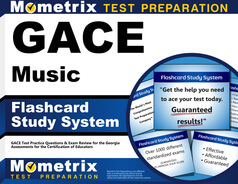 GACE Music Flashcards