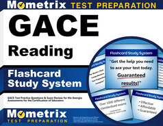 GACE Reading Flashcards