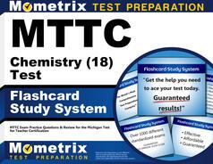 MTTC Chemistry Flashcards
