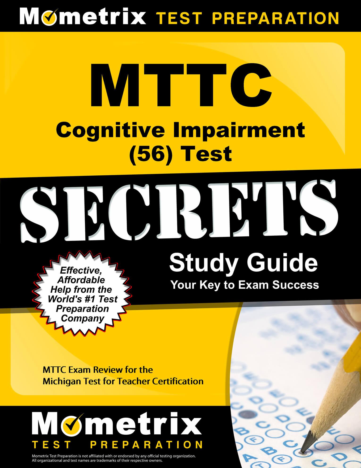 MTTC Cognitive Impairment Study Guide