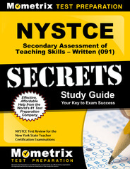 NYSTCE Secondary Assessment of Teaching Skills-Written Study Guide