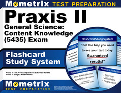 Praxis II General Science: Content Knowledge Flashcards