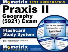 Praxis II Geography Flashcards