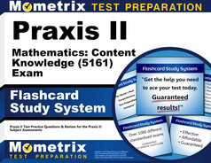 Praxis II Mathematics: Content Knowledge Flashcards