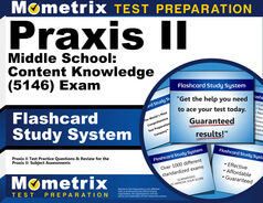 Praxis II Middle School: Content Knowledge Flashcards