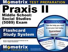 Praxis II Middle School: Social Studies Flashcards