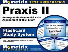 Praxis II Pennsylvania Grades 4-8 Core Assessment Flashcards