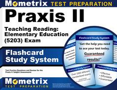 Praxis II Teaching Reading: Elementary Education Flashcards