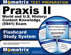 Praxis II World and U.S. History: Content Knowledge Flashcards
