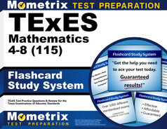 TExES Mathematics 4-8 Flashcards
