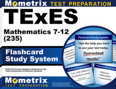 TExES Mathematics 7-12 Flashcards
