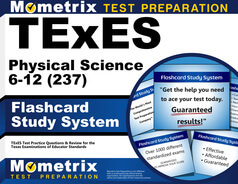 TExES Physical Science 6-12 Flashcards