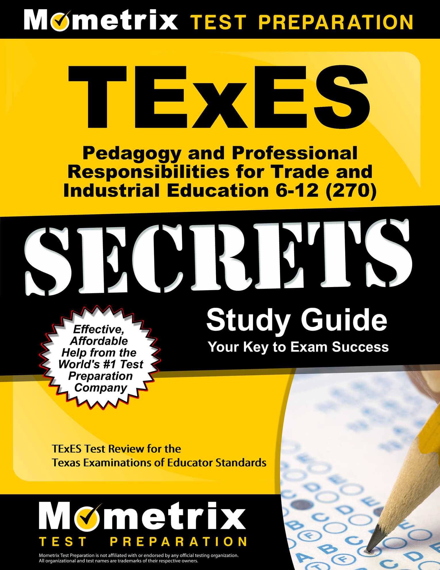 TExES Pedagogy and Professional Responsibilities for Trade and Industrial Education 6-12 Study Guide