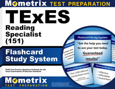 TExES Reading Specialist Flashcards