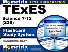 TExES Science 7-12 Flashcards
