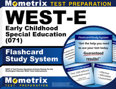 WEST-E Early Childhood Special Education Flashcards