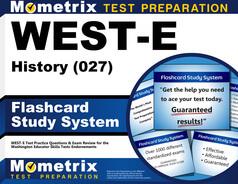 WEST-E History Flashcards