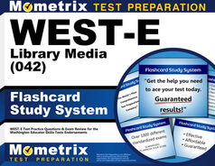 WEST-E Library Media Flashcards