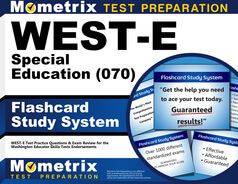 WEST-E Special Education Flashcards