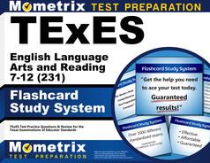 TExES English Language Arts and Reading 7-12 Flashcards