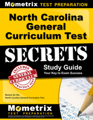 North Carolina General Curriculum Test Study Guide