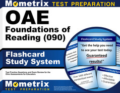 OAE Foundations of Reading Flashcards