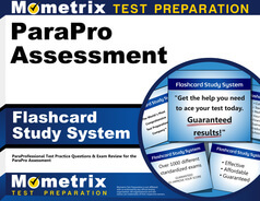 ParaPro Assessment Flashcards