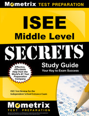 ISEE Middle Level Study Guide