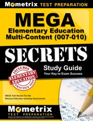 MEGA Elementary Education Multi-Content Study Guide