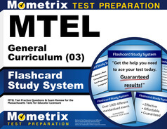 MTEL General Curriculum Flashcards