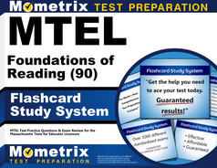 MTEL Foundations of Reading Flashcards