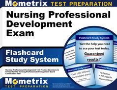 Nursing Professional Development Flashcards