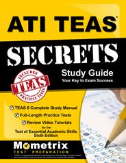ATI TEAS 6 English Study Guide (2019) by Mometrix
