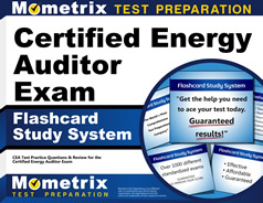 Certified Energy Auditor Flashcards