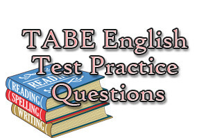 TABE English Test Practice Questions