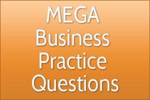MEGA Business Practice Questions