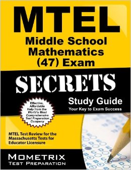 MTEL Middle School Mathematics Exam Practice Questions Study Guide