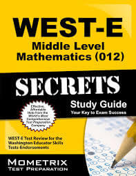 WEST E Middle Level Mathematics Study Guide